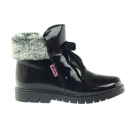 American Club crna Američke čizme čizme zimske čizme 18015