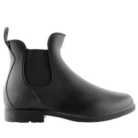 Wellington csizma fekete D67 fekete