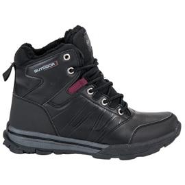Ženske trekking cipele MCKEYLOR crna