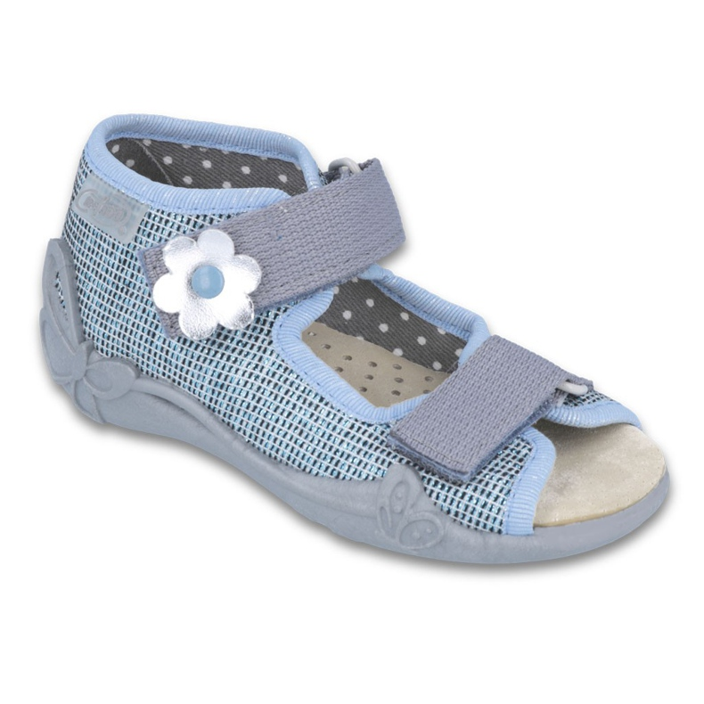 Befado žute dječje cipele 242P081 plava