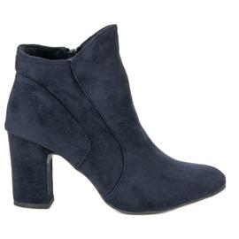 Kylie Elegantne čizme od antiknosti plava