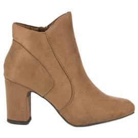 Kylie Elegantne čizme od antiknosti smeđ