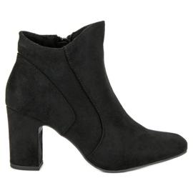 Kylie Elegantne čizme od antiknosti crna