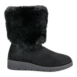 Kylie crna Modna zimska obuća