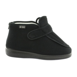 Fekete Befado cipő DR ORTO 987D002