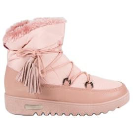 Roze MCKEYLOR čizme za snijeg
