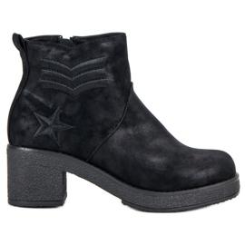 Kylie Vojne čizme žene crna