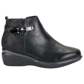 Kylie Udobne crne čizme za gležnjeve crna