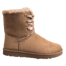 Kylie barna Kötött hó cipő