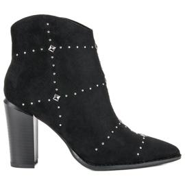 Kylie Suede crne čizme crna