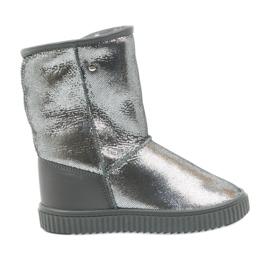 Siva Čizme Bartek 47750 prirodna vuna