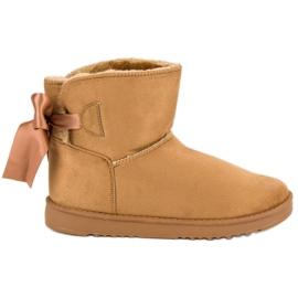 Barna Mukluki hó cipő