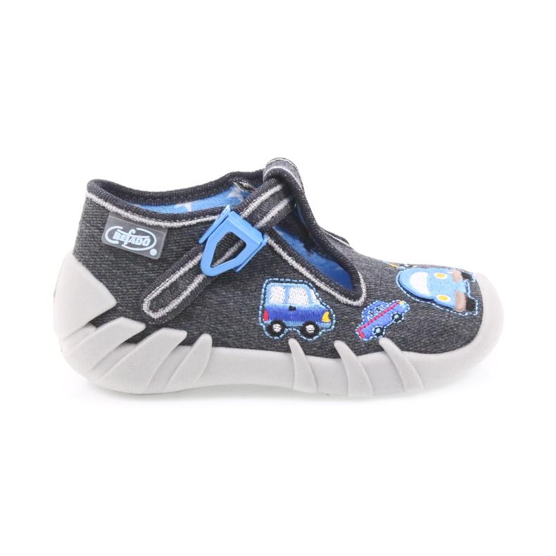 Dječje papuče Befado 110P341 sive
