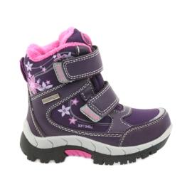 American Club purpurna boja Zimske čizme američke čizme s membranom 3121