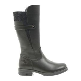 Ren But Ren Boot hosszú csizma fekete 4371