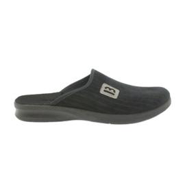 Papuče za muške cipele Befado 548m015 crne crna