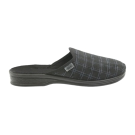 Papuče za muške cipele Befado 089M408 crne crna