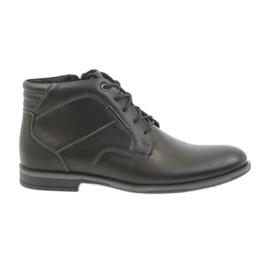 Crna Riko čizme za muške cipele Jodhpur 861
