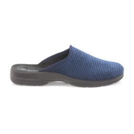 Inblu mornarica Muške papuče mornarsko plave boje