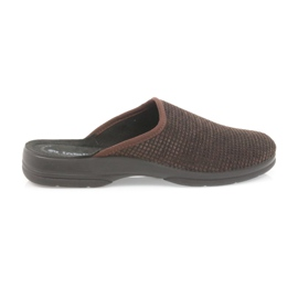 Inblu Muške papuče smeđe papuče