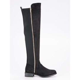 Seastar Crne čizme sa klizačem crna