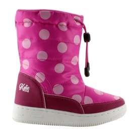 Roze Dječje čizme za orthalion k1646109 Rose