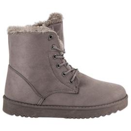 Forever Folie szürke Meleg cipő cipő