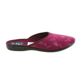 Papuče od velura Adanex 18115
