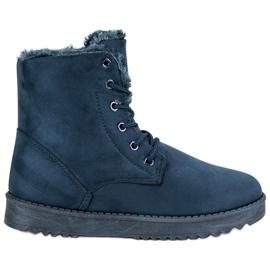 Forever Folie kék Meleg cipő cipő