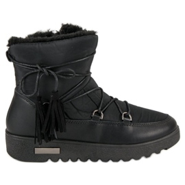 Crna MCKEYLOR čizme za snijeg