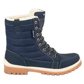 Plava MCKEYLOR čizme za snijeg