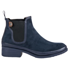 Kylie Čizme Jodhpur čizme plava