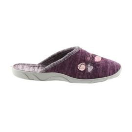 Papuče za ženske cipele Befado 235d152 purpurna boja