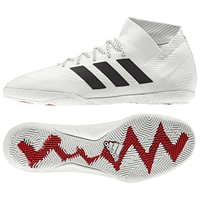 Zatvorene cipele adidas Nemeziz 18.3 U M D97989 bijela bijela