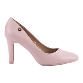 Vinceza roze Ružičaste pumpe