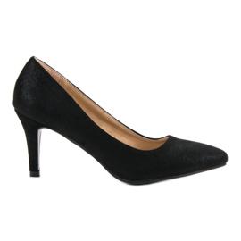 Crna Brokatne cipele od Vinceza
