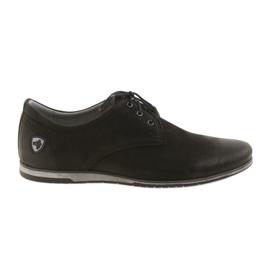 Fekete Riko alacsony sarkú sportcipő 877