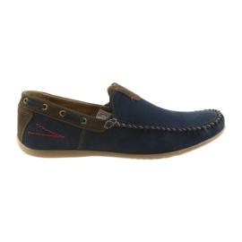 Riko moccasin cipő férfi kék 781