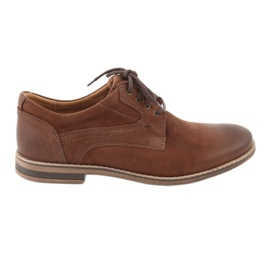 Barna Riko alacsony vágású férfi cipő 831