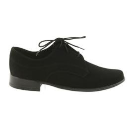 Fekete Miko cipő gyerekek velúr közösség cipő