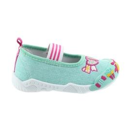 American Club zöld Amerikai cipők gyermekcipő rugalmas bőr talpbetéten