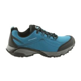 American Club ADI ženske sportske cipele vezane američkim vodootpornim softhell WT06 / 19 plava