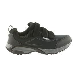American Club ADI ženske sportske cipele s američkim vodonepropusnim mekim kućištima WT08 / 19 crna