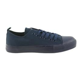 American Club Muške cipele vezane tenisice plave američki Club LH05 mornarica