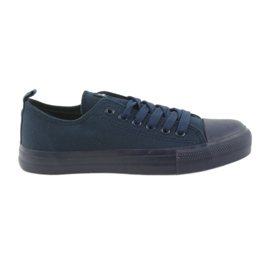 Haditengerészet Férfi cipő kötött cipők kék American Club LH05