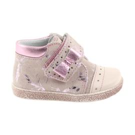 Roze Velcro čizme za bebe cipele Ren But 1535 ružičaste flamingose