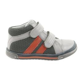 Cipele čizme Velcro čizme Ren But 3225 sivo / narančasto