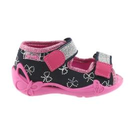 Dječje cipele Befado papuče 242P089 mornarsko plave boje