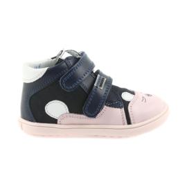 Csizma cipő gyerekek Velcro nyúl Bartek 11702
