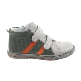 Ren But Boote cipele dječje čizme od čičak trake Ren 4275 sivo / narančasto
